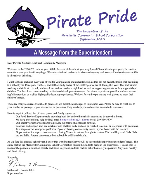 Sept. Pirate Pride